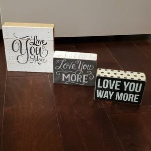 Other - Wall Decor ( set of 3 )